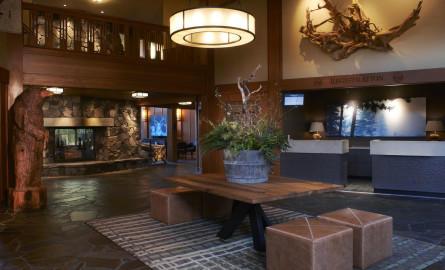 Skamania Hotel Lobby