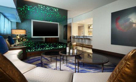 W Hotel E wow Living Room