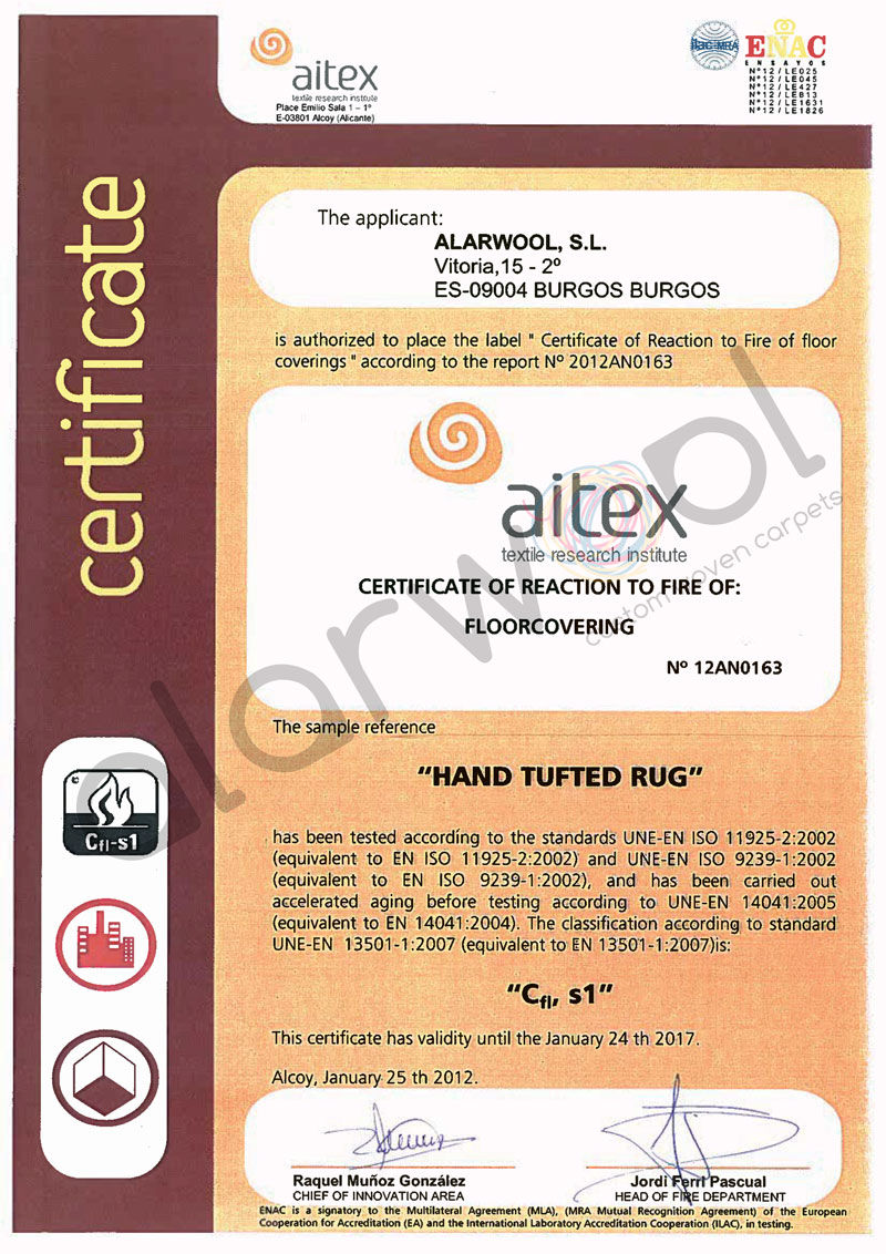 Support alarwool custom woven carpets rugs hand tufted fire certificate leed 1betcityfo Images